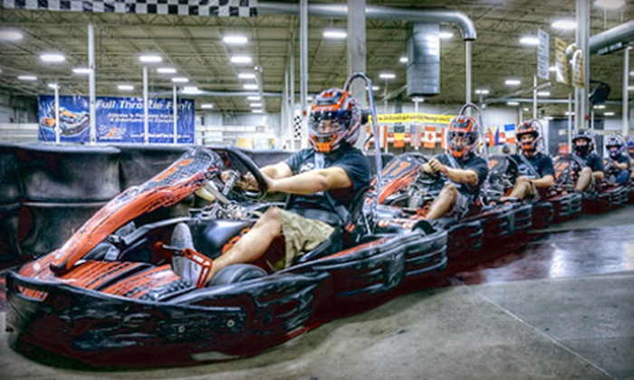 Octane Raceway (Formerly F1 Race Factory) - Camelback East: Two or Four Go-Kart Races at Octane Raceway (Up to 55% Off)