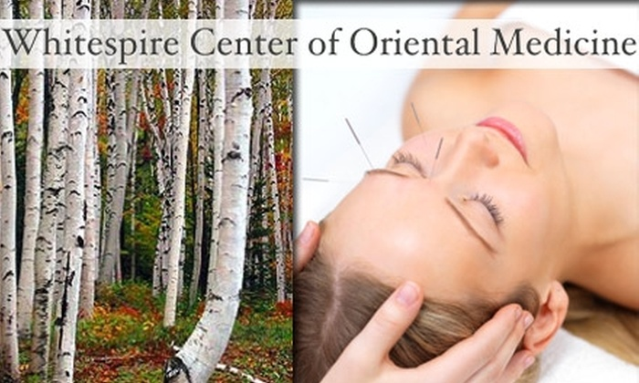 Whitespire Center of Oriental Medicine - Concord: $25 for an Acupuncture Session and Consultation at Whitespire Center of Oriental Medicine ($60 Value)