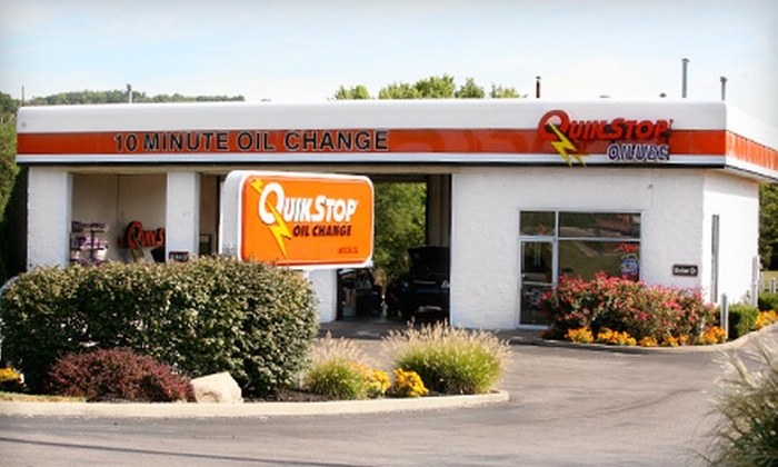 QuikStop Oilube - Multiple Locations: Full-Service Oil Change at QuikStop Oilube. Ten Locations Available.