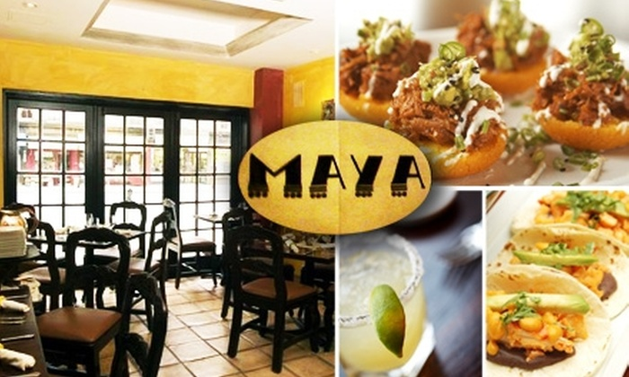 Maya NY - Upper East Side: $25 for $50 Worth of Modern Mexican Cuisine at Maya