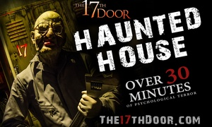 17th Door Haunted House: Up to 41% Off Haunted House at 17th Door Haunted House