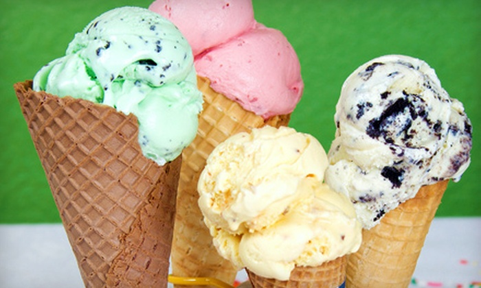 Pav's Creamery - Portage Lakes: $10 for a Punch Card for Five Frozen Treats at Pav's Creamery (Up to $20 Value)