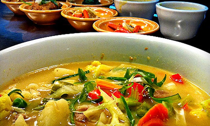Sherpa House Restaurant and Cultural Center - Golden Proper: Himalayan Meals at Sherpa House Restaurant and Cultural Center in Golden (Up to 67% Off). Three Options Available.