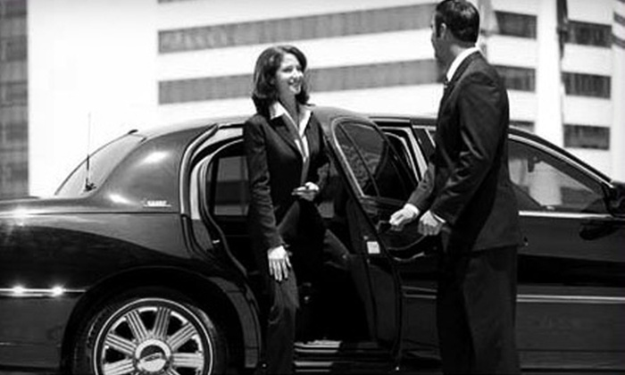 All Valley Transportation - South Mountain: $20 for an Executive Sedan Airport Drop-Off at Phoenix Sky Harbor from All Valley Transportation (Up to $120 Value)