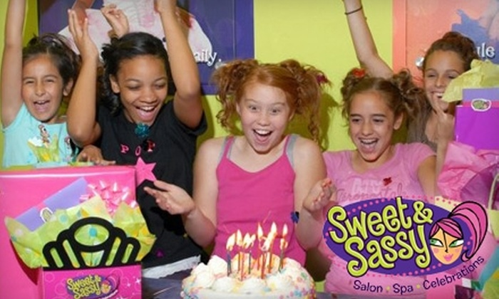 Sweet and Sassy - Garland: $15 for a Young Girls' Party Princess Spa Package at Sweet and Sassy ($40 Value)