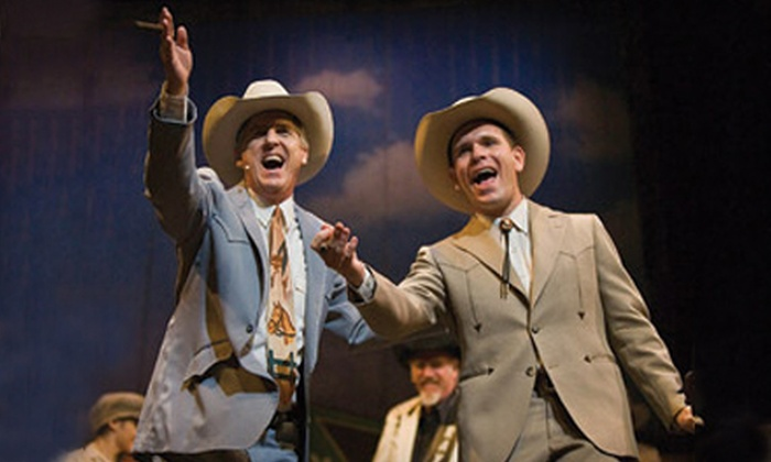 "Claremore Productions - Claremore: One Ticket to ""A Ride With Bob: The Bob Wills Musical"" in Claremore on October 29 (Up to 51% Off). Three Options Available."