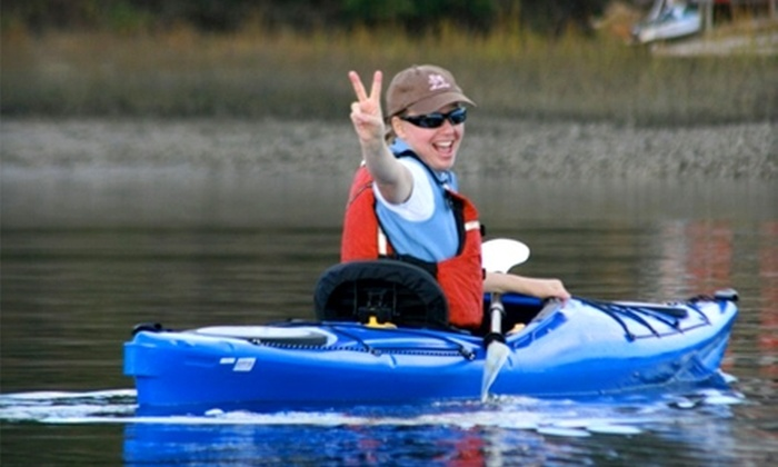 Marshgrass Adventures - Hilton Head Island: $17 for a Two-Hour Kayak Tour from Marshgrass Adventures (Up to $35 Value)