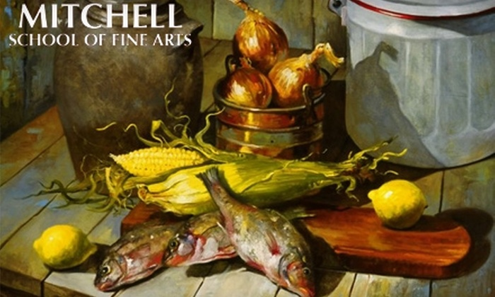 Mitchell School of Fine Arts - Towson: $49 for a Four-Week Youth Class ($120 Value) or $69 for a Four-Week Adult Class ($180 Value) at the Mitchell School of Fine Arts