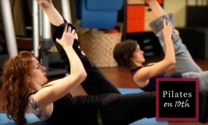 Pilates on 10th - Montlake: $30 for Five Pilates Mat Classes at Pilates on 10th ($90 Value)