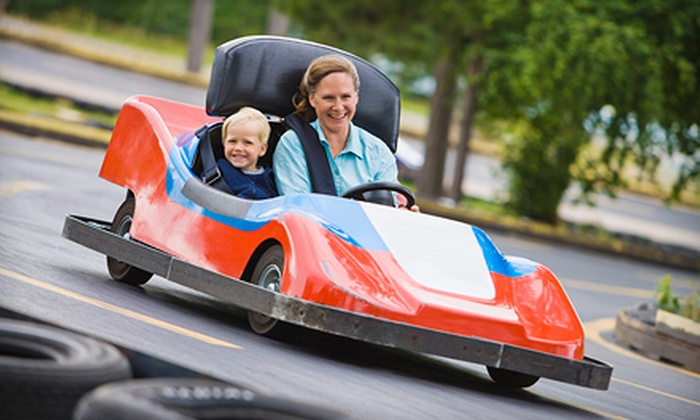 Europa Go-Karts & Golf - Nashville-Davidson: Five Single-Go-Kart Rides or Three Double-Go-Kart Rides at Europa Go-Karts & Golf