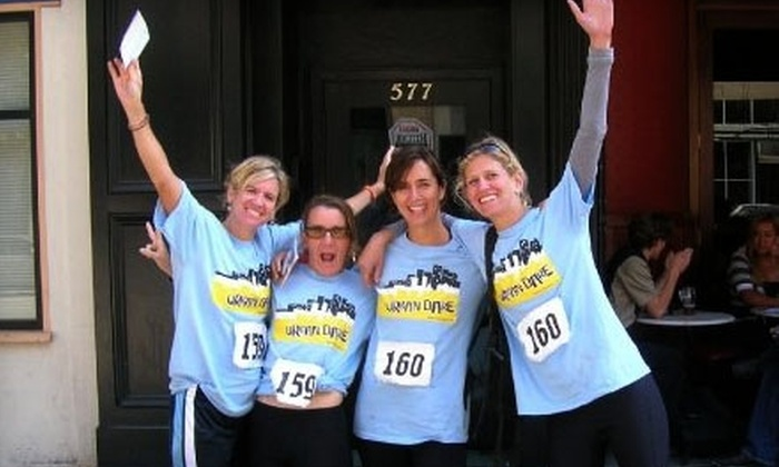 Urban Dare - Foggy Bottom - GWU - West End: $45 for One Team Entry to the Urban Dare Adventure Race ($90 Value)