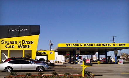 3 Deluxe Washes (a $29.97 value) - Splash N Dash Car Wash in Dallas