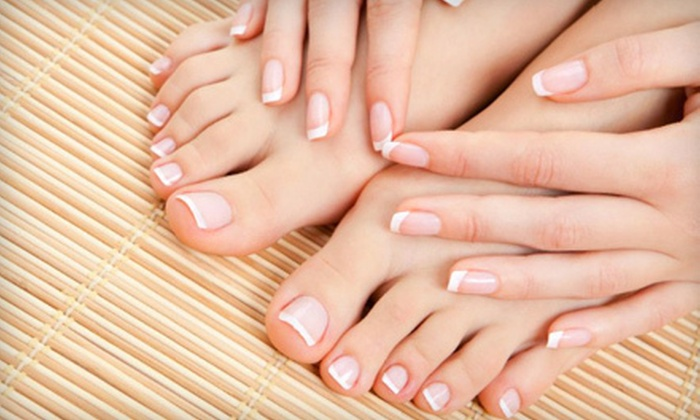 Unique Therapies - Walkerville: Spa Package with Mani-Pedi and Facial, or Mani-Pedi at Unique Therapies (Up to 56% Off)