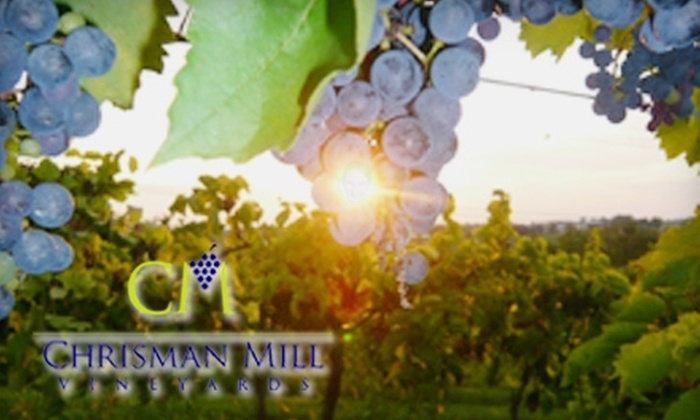 Chrisman Mill Winery - Liberty Area: $20 for $40 of Wine and Accessories, Plus Wine Tastings at Chrisman Mill Winery ($48 Total Value)