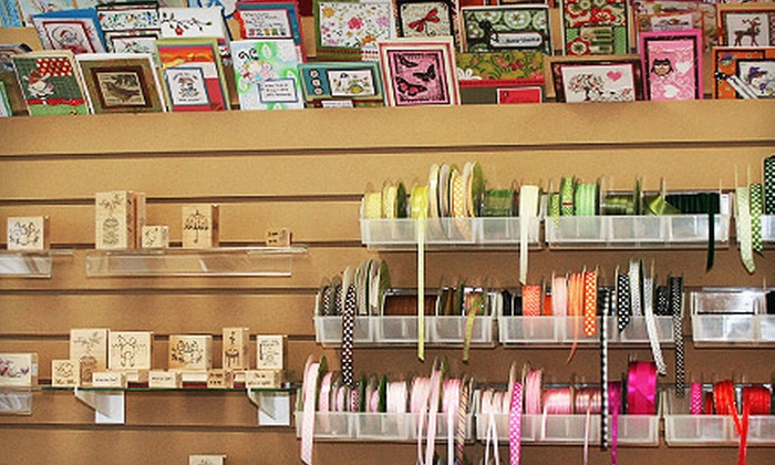 Treasured Memories Scrapbooking - Duncan: $10 for $20 Toward Scrapbooking Supplies and Class Registration at Treasured Memories Scrapbooking in Duncan