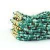 Genuine Turquoise Multi-Row Stretch Bracelet