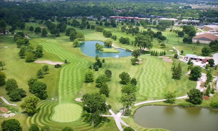 Inwood Golf Course - Joliet: Four or Eight Large Buckets of Driving-Range Balls at Inwood Golf Course from Joliet Golf Courses (Half Off)