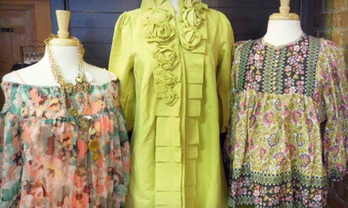 PurPle Pogo - H D Wise: $15 for $30 Worth of Boutique Apparel, Jewelry, and Bath Products from PurPle Pogo