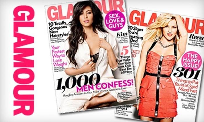 """""""Glamour"""" Magazine - Nashville: $6 for One-Year Subscription to """"Glamour"""" Magazine ($12 Value)"""