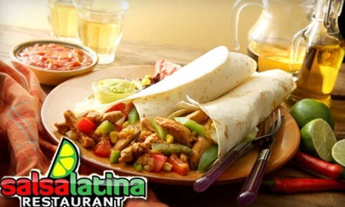 Salsa Latina - West Hill: Half Off Upscale Latin American Lunch or Dinner at Salsa Latina. Choose Between Two Options.