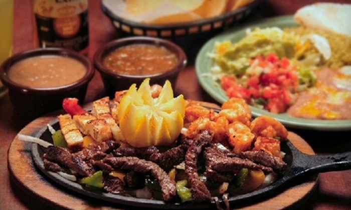 Super Mex Restaurant & Cantina - Multiple Locations: $10 for $20 Worth of Mexican Fare and Drinks at Super Mex Restaurant & Cantina