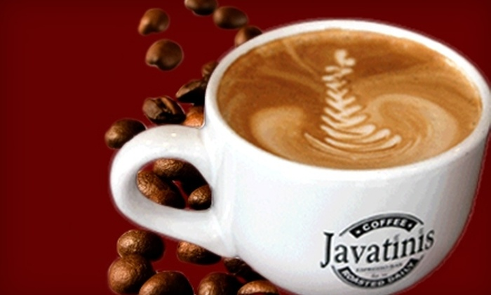 Javatinis - Seal Beach: $5 for $10 Worth of Coffee, Smoothies, Sandwiches, and More at Javatinis in Seal Beach