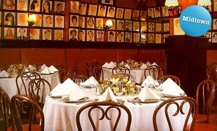 Sardi's: $30 Groupon toward Lunch - Sardi's in Manhattan