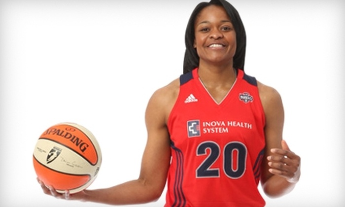 Washington Mystics: $157 for Washington Mystics Season Tickets ($315 Value) or $168 for 12-Game Voucher Pack ($336 Value) at the Verizon Center