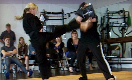 5-Class Pass for Cardio Kickboxing or Zumba (a $60 value) - TeamKat Martial Arts & Wellness in Grayslake
