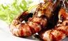 BAIA DEI DELFINI - Baia Dei Delfini: Menu di pesce di 4 portate con vino sul litorale di Battipaglia (sconto fino a 71%)