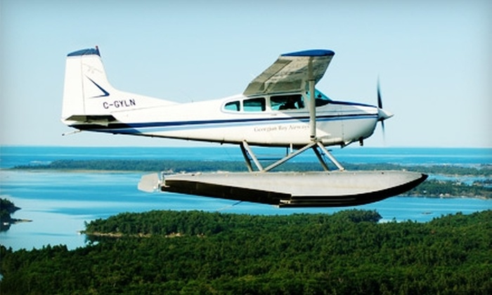 Georgian Bay Airways - Parry Sound: $185 for an Air Tour for Two Plus a Commemorative Framed Photo from Georgian Bay Airways in Parry Sound ($314.94 Value)