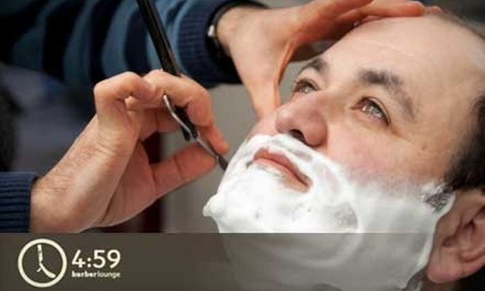 4:59 Barber Lounge - Washington: $13 for a Haircut at 4:59 Barber Lounge