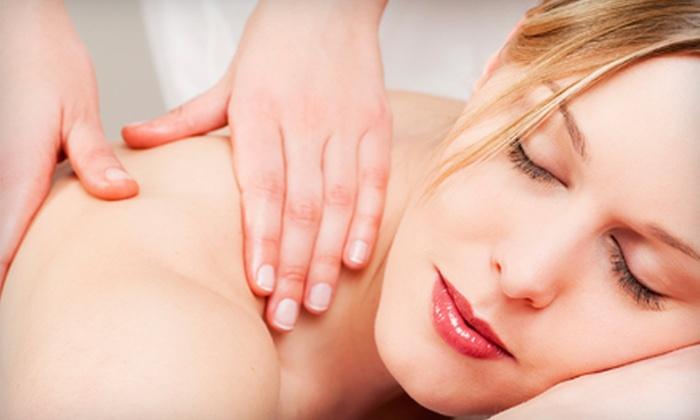 Aqua Vitae Spa & Laser - South Surrey: $69 for Massage and Glacier-Salt Body Glow Treatment at Aqua Vitae Spa & Laser in South Surrey ($150 Value)