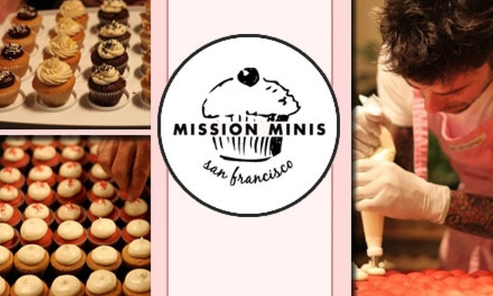 Mission Minis - Mission: $11 for Two-Dozen Eclectic Miniature Cupcakes at Mission Minis ($22 Value)