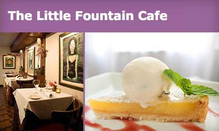 Little Fountain Cafe - Adams Morgan: $15 for $30 Worth of Food and Drinks at Little Fountain Cafe