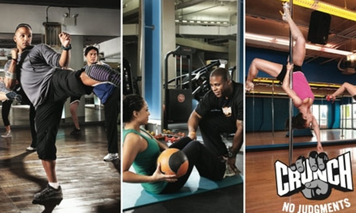 Crunch - Hollywood: $39 for a One-Month Gym Membership to Crunch in West Hollywood ($149.99 Value)