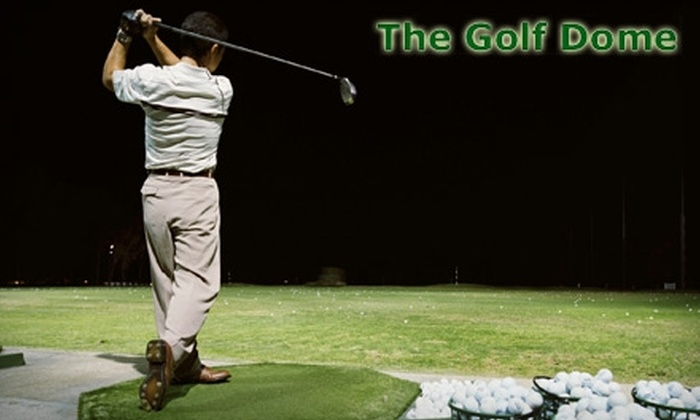 The Golf Dome - Bainbridge: $9 for One Hour of Unlimited Golf Balls at The Golf Dome Indoor Driving Range ($18 Value)