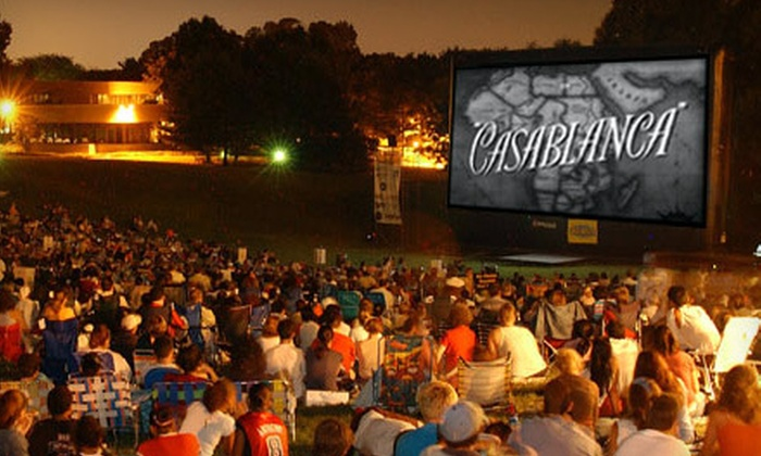 SkyFlicks - Atlanta: $195 for an Outdoor Movie Party Rental with Popcorn from SkyFlicks (Up to $474 Value)