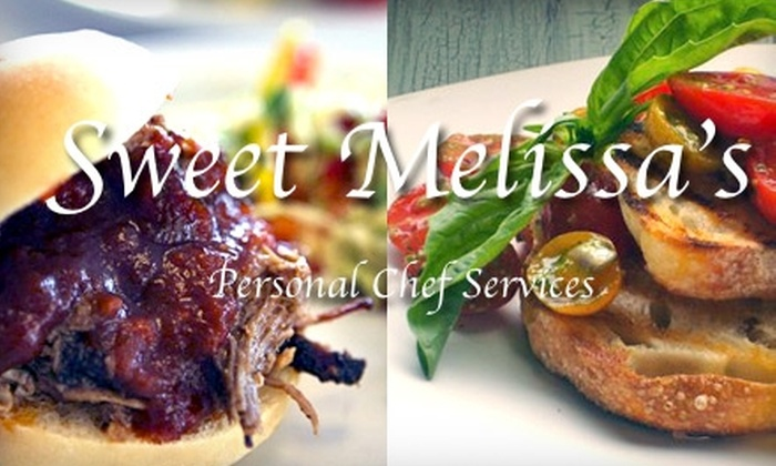 Sweet Melissa's Personal Chef Services - San Francisco: $150 for a Three-Course Home-Catered Meal for Two from Sweet Melissa's Personal Chef Services ($300 Value)