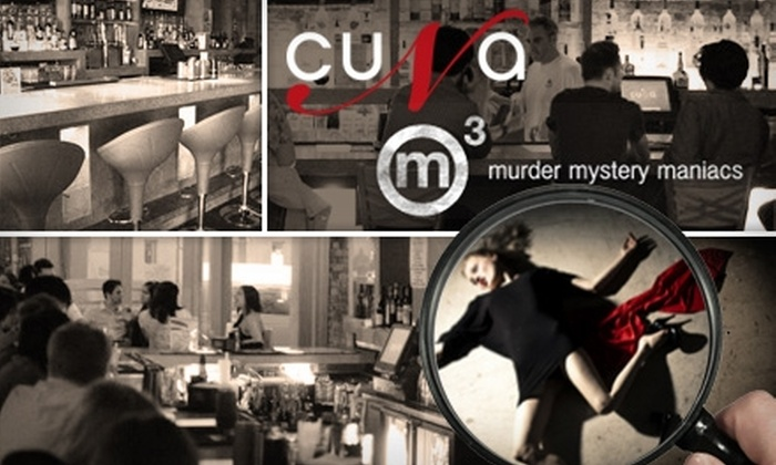Murder Mystery Maniacs, Inc - Lakeview: $30 Ticket to Performance and Dinner from Murder Mystery Maniacs ($60 Value)