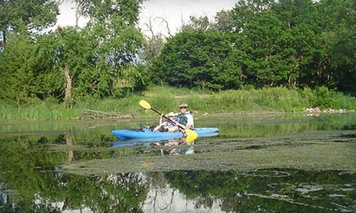 Kayakjak's Outfitters - Parks: $75 for One-Night Stay and Wine Tasting at Sage Hill Vineyard Plus a Kayak Rental and Meal from Kayakjak's Outfitters in Parks ($149 Value)