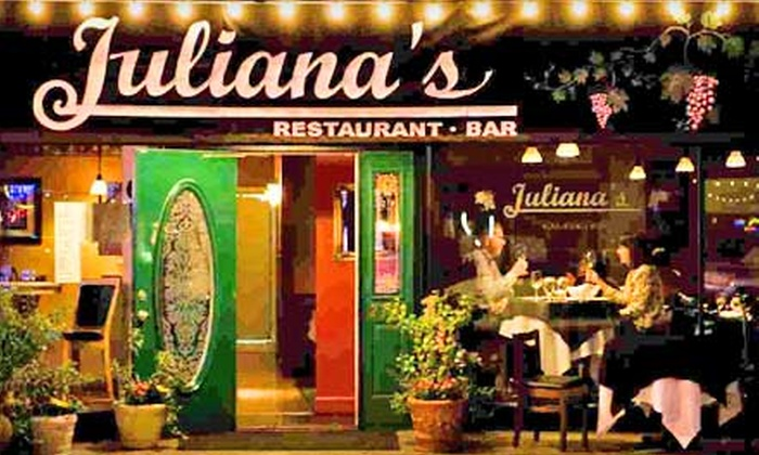 Juliana's - College Park: $15 for $30 Worth of Upscale Italian Dinner Fare at Juliana's
