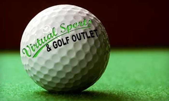 Virtual Sports & Golf Outlet - Hampton Roads: $16 for One Hour of Sports Simulation at Virtual Sports & Golf Outlet ($38 Value)