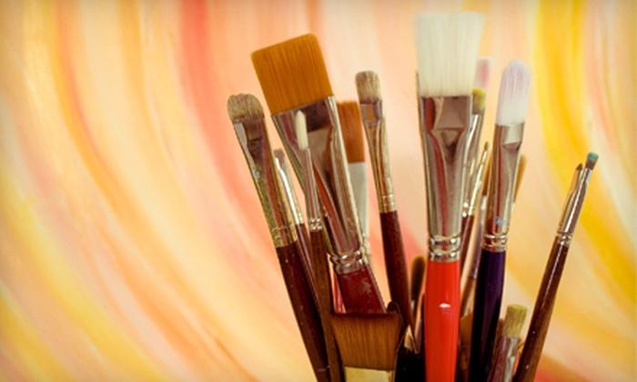 Sugar-n-Spice Studios - Santa Ana: $25 Worth of Art Classes