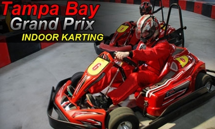 Tampa Bay Grand Prix - Pinellas Park: Two Races and License at Tampa Bay Grand Prix. Choose from Two Options.