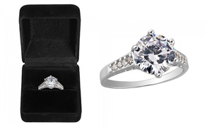 2.5ct Sapphire White Gold Ring