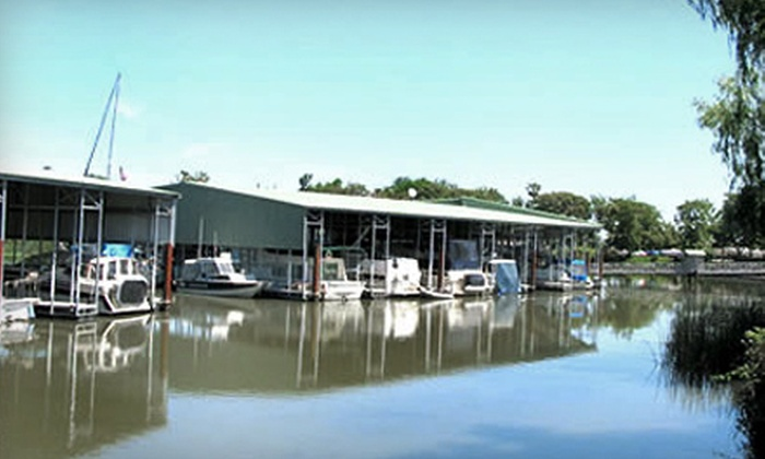 Tiki Lagun Resort & Marina - Stockton: Boat-Slip Rental at Tiki Lagun Resort & Marina. Multiple Options Available.