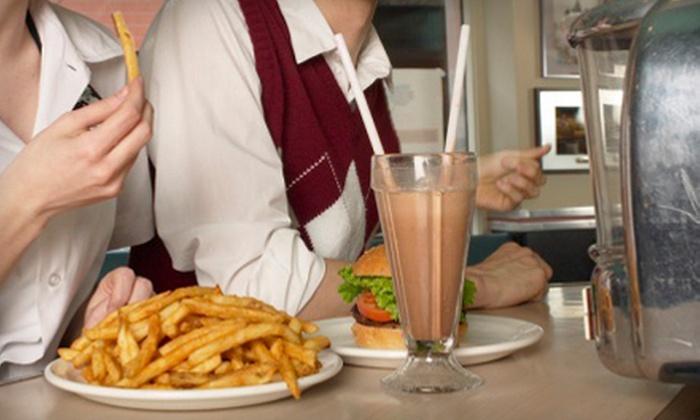Original Mel's Diner - Auburn: American Food for Two, Four, or Eight or More at Original Mel's Diner (Half Off)