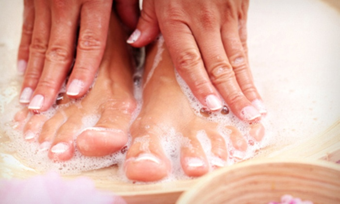 Angel Salon and Day Spa - Sugarland: Spa Mani-Pedi for One or Two People or $25 for $50 Worth of Spa Services at Angel Salon and Day Spa in Sugarland