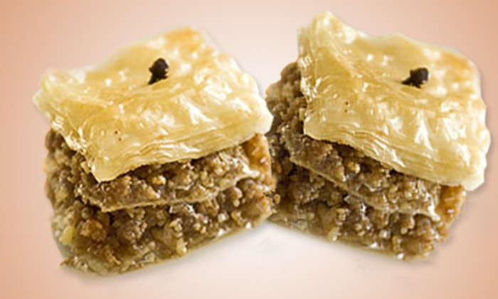 Yiayia Maria's Kitchen - Coman Industrial District: $10 for a 1 Lb. Box of Gourmet Baklava from Yiayia Maria's Kitchen ($20 Value)